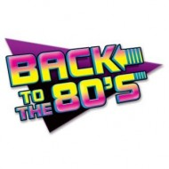 Back to the 80s Party Sign