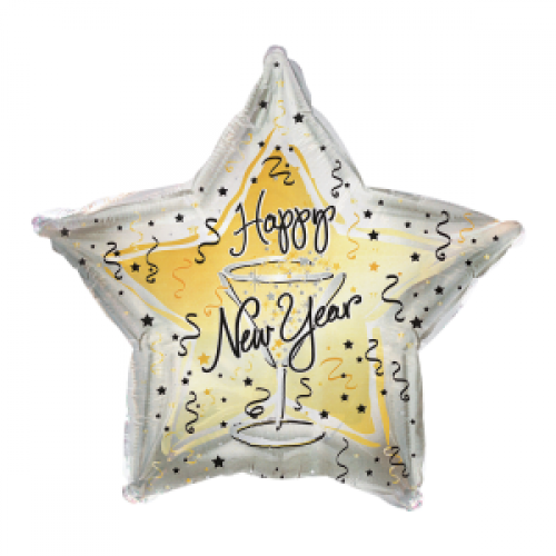 New Year\'s Eve Champagne Toast Balloon - New Year\'s Eve Champagne ...