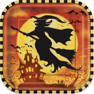 Spooky Hollow Halloween Plates