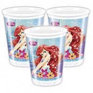 Disney Little Mermaid Ariel Plastic Cups