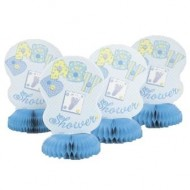 Baby Shower Boy Table Centrepiece x4