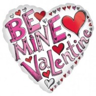 Be Mine Valentine Balloon