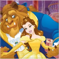 Disney Beauty & The Beast Party Napkins