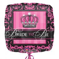 Bride to Be Crown Hen Party Bridal Shower Balloon