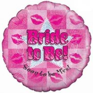 Bride to Be Hen Party Balloon