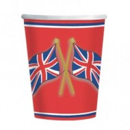 Great British Party Britannia Paper Cups