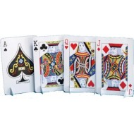Casino Playing Cards Table Centrepiece