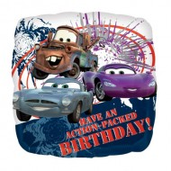 Disney Cars Have An Action Packed Birthday Balloon