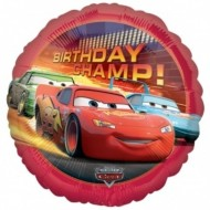 Disney Cars Birthday Champ Balloon