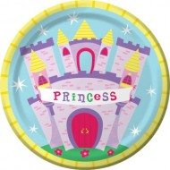 Princess Castle Party Plates