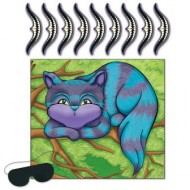 Pin The Smile on The Cheshire Cat Alice in Wonderland Game