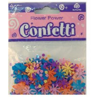 Flower Power Daisy Table Confetti