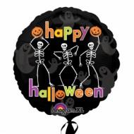 Dancing Skeletons Halloween Balloon