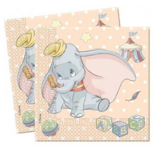 Disney Dumbo Birthday / Baby Shower Napkins
