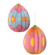 Easter Egg Paper Lanterns x 2