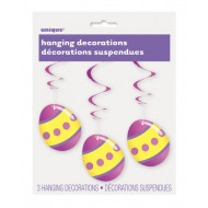 Easter Egg Hanging Swirls