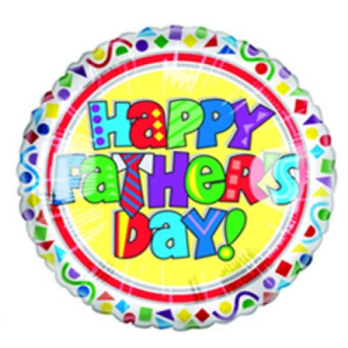 Happy father s day funky letters balloon happy father s day funky