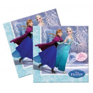 Disney Frozen Ice Skating Party Napkins