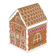 Gingerbread House Christmas Table Centrepiece