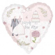 Happily Ever After Wedding Balloon