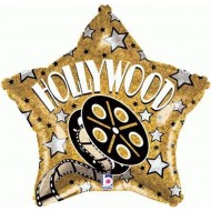 Hollywood Gold Star Balloon