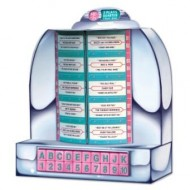 50s Rock & Roll Diner Tabletop Jukebox Centrepiece