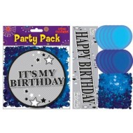 Blue Birthday Party Pack