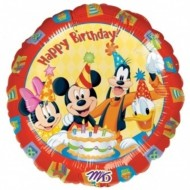 Disney Mickey Mouse Happy Birthday Balloon