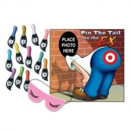 Pin The Tail On The Ex Party Game