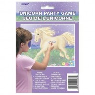 Pin The Horn On The Fantasy Unicorn Party Game