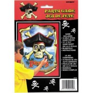 Pin The Patch on the Pirate Skull Party Game