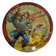 Disney Pirates of the Caribbean Party Plates