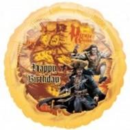 Disney Pirates of the Caribbean Birthday Balloon