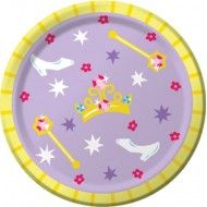 Princess Tiara & Jewels Party Plates