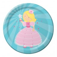Princess Fairytale Party Plates