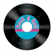 50s Rock & Roll Record Coasters