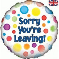 Sorry You're Leaving Spotty Balloon
