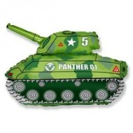 Army Camouflage Tank Supershape Balloon