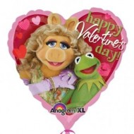 Happy Valentine's Day Muppets Balloon