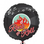 50s Rock & Roll Record Balloon