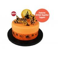 Haunted Halloween Cake Topper Kit