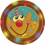 Alien Fun Birthday Party Plates