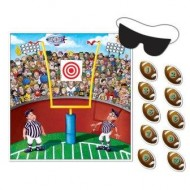 Pin the American Football Party Game