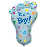 Baby Shower It's A Boy Baby Foot Balloon