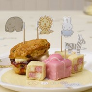 Baby Miffy Baby Shower Cupcake / Canape Picks