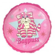 Bagpuss Cat Pink Balloon