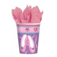 Twinkle Toes Ballerina Party Cups