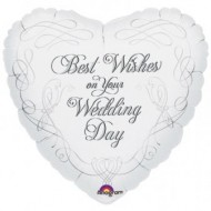 Best Wishes on Your Wedding Day Balloon