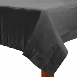 Black Rectangle Table Cover