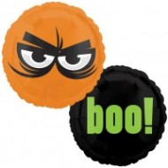 Boo Eyes Double Sided Halloween Balloon